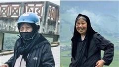 Cụ bà 90 tuổi vẫn 'phượt' lên Sapa bằng xe máy, độ 'chịu chơi' khiến dân mạng trầm trồ