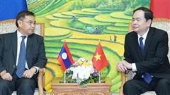 Tăng cường hợp tác, kết nối toàn diện Việt Nam - Lào