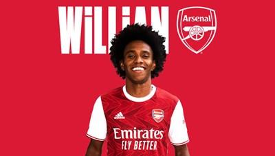 Arsenal chiêu mộ thành công Willian, ký hợp đồng 3 năm