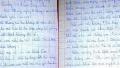 Xúc động bức thư cô bé lớp 3 gửi cha nơi tuyến đầu chống dịch
