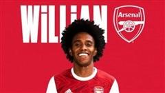 Willian nói lời mát ruột trong ngày ra mắt Arsenal