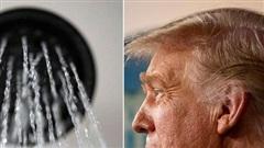 Ông Trump phàn nàn nước từ vòi sen không đủ mạnh để tạo 'kiểu tóc hoàn hảo'