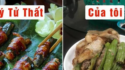 Học Lý Tử Thất làm món ăn kiểu Trung nhưng cô gái Việt nhận được bài học