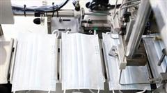 Khai trương nhà máy sản xuất khẩu trang y tế