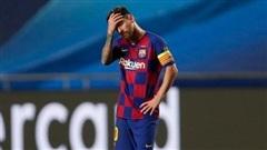 Quay chậm thảm bại lịch sử của Barca tại Champions League