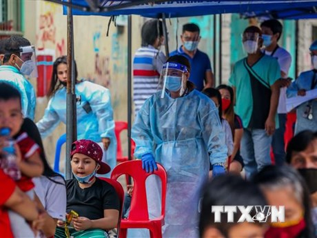 Philippines, Indonesia ghi nhận số ca mắc mới COVID-19 tăng mạnh