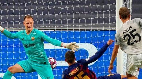 Đêm Lisbon kinh hoàng, Barcelona đại bại 2-8 trước Bayern Munich
