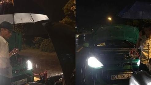 Xúc động câu chuyện tài xế taxi giúp đỡ người phụ nữ xa lạ giữa cơn mưa tầm tã lúc nửa đêm