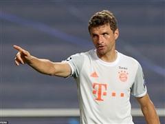 Thomas Mueller trở thành 'hung thần' đối với Barcelona