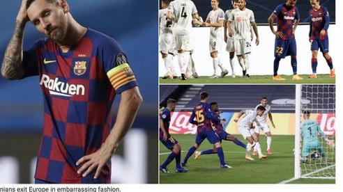 Báo chí Tây Ban Nha và châu Âu chê cười 'nỗi ô nhục Barcelona'