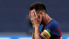 Barca và Messi nhận thất bại nhục nhã chưa từng thấy
