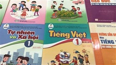 Sách giáo khoa lớp 1 mới đã về các trường