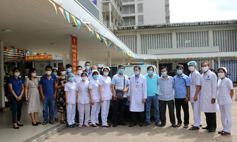 Đội phản ứng nhanh số 7 BV Chợ Rẫy lên đường chi viện cho Đà Nẵng