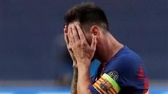 Đêm kết thúc kỷ nguyên Barca-Messi