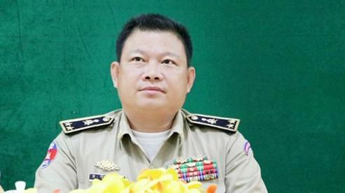 Bị 5 nữ đồng nghiệp tố có hành vi 'không phù hợp', Tướng cảnh sát Campuchia bị đình chỉ