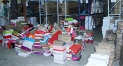 Phát hiện kho hàng 600m² chứa đầy giày dép không 'giấy tờ'