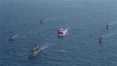 Tàu chiến Hy Lạp, Thổ Nhĩ Kỳ va chạm trên Địa Trung Hải