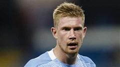 De Bruyne giành giải Cầu thủ xuất sắc nhất Premier League