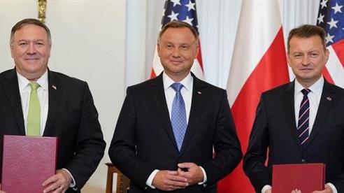 Mỹ sẽ điều 1.000 lính đến Ba Lan