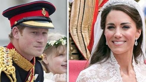 Harry từng khiến chị dâu Kate bật khóc trong lễ cưới