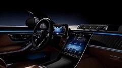 Lộ diện hình ảnh nội thất của Mercedes-Benz S-Class 2021