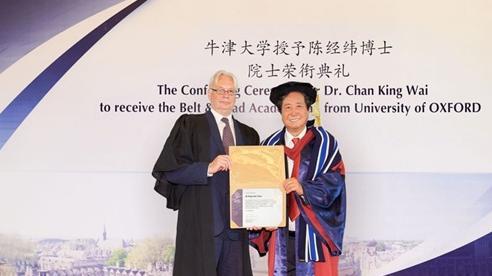 Đại học Oxford cấp bằng 'vô nghĩa' cho đại gia thân Bắc Kinh, hé lộ động cơ phía sau