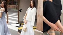 Nhìn Hòa Minzy bị tòe ngón chân khi đi sandals, chị em mới thấm thía câu 'giày dáng nào tôn chân dáng ấy'