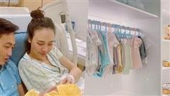 Phòng để quần áo của con gái Cường Đô la như một... cửa hiệu thời trang