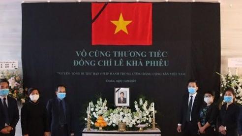 Tổng Lãnh sự quán Việt Nam tại Osaka tổ chức lễ viếng nguyên Tổng Bí thư Lê Khả Phiêu