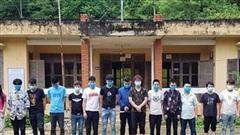 Bắt giữ 15 người nước ngoài nhập cảnh trái phép vào Việt Nam