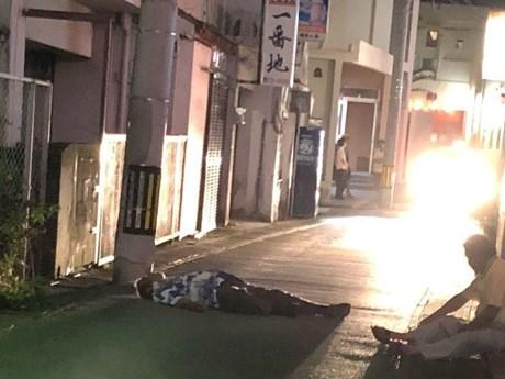 Ngủ trên đường, hiện tượng kỳ lạ ở Okinawa khiến cảnh sát đau đầu