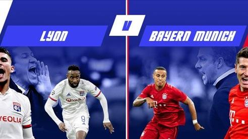 Nhận định trước trận bán kết Olympique Lyon gặp Bayern Munich