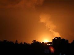 Quân đội Israel không kích các mục tiêu của Hamas ở Dải Gaza