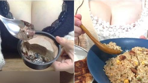 Ăn mặc trễ nải khoe vòng một 'khủng', nữ Youtuber bị dân mạng 'đá xéo'