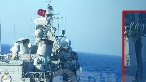 Ankara coi vụ va chạm giữ chiến hạm Thổ Nhĩ Kỳ với tàu Hy Lạp là hành động khiêu khích