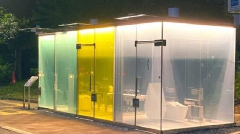 Nhà vệ sinh công cộng 'trong suốt' xoá bỏ định kiến tại Nhật Bản