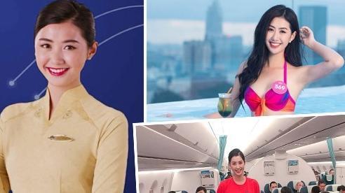 Người đẹp Ngọc Linh bỏ showbiz làm tiếp viên hàng không giờ ra sao?