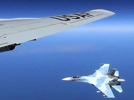 Nga điều tiêm kích chặn máy bay trinh sát của Mỹ trên Biển Baltic