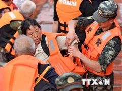 Chủ tịch Trung Quốc chỉ thị quân đội nỗ lực phòng chống lũ lụt