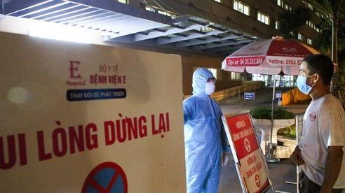 Xuất hiện ca nhiễm Covid -19, Bệnh viện E tạm phong tỏa ngay trong đêm
