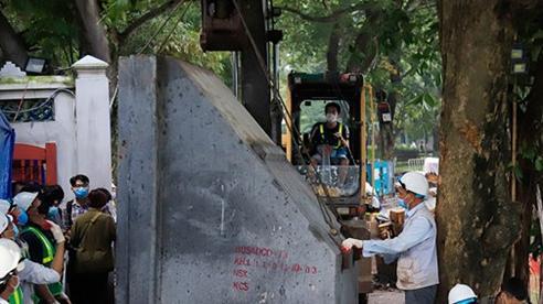 Hợp long toàn tuyến, hoàn thành công trình kè hồ Hoàn Kiếm