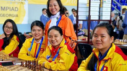 Quang Liêm, Trường Sơn tranh Olympiad cờ vua online
