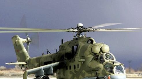 Ai Cập điều hàng loạt 'xe tăng bay Mi-24' mang theo rocket đa năng tới Libya