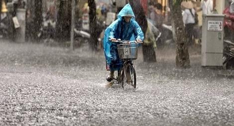 Bắc Bộ tiếp tục mưa lớn diện rộng
