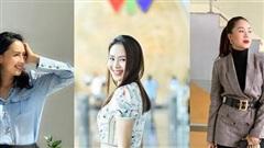 Quý cô ngoài tuổi 30 học ngay gu thời trang tinh tế của diễn viên Hồng Diễm