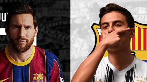 Juventus đánh lớn, dùng Dybala cược lấy Messi