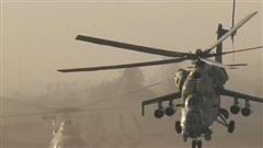 Trực thăng mang rocket diệt cả nhóm mục tiêu đến Libya
