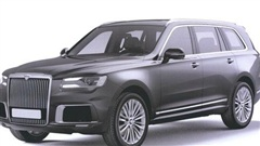 Lộ diện SUV siêu sang mới với thiết kế y đúc Rolls-Royce