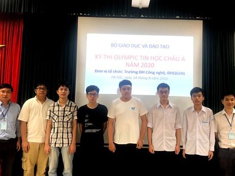 Học sinh Việt Nam đoạt huy chương vàng Olympic Tin học châu Á