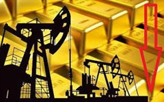 Thị trường ngày 22/08: Dầu, vàng cùng rớt giá